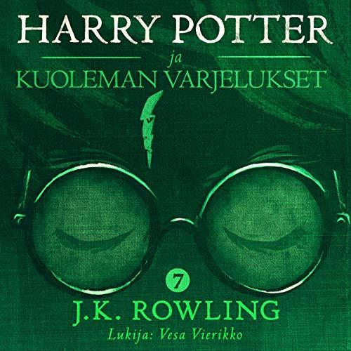 Harry Potter ja kuoleman varjelukset cover art