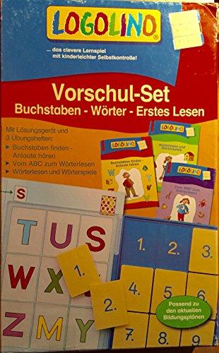 Unbekannt LOGOLINO Vorschul-Set Buchstaben-Wörter-Erstes Lesen