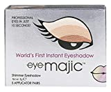 Eye Majic - Sombra de ojos instantánea - Maquillaje profesional en 10 segundos - Pack de 5 - Natural Blond - 016