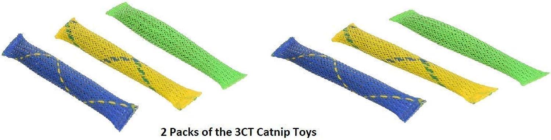 Pioneer Pets Nip Nibblers Catnip Toy 2pack 3 CT. NIP NIBBLERS CAT Toy (2 Bags 3CT cat nip)
