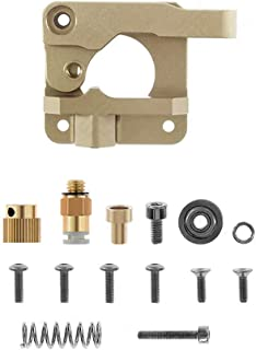 WINSINN 3D Printer Extruder, Works with Creality Ender 3 5 CR10 CR-10 CR-10S Upgraded Aluminum RepRap Prusa i3 for MK8 Drive - Gold