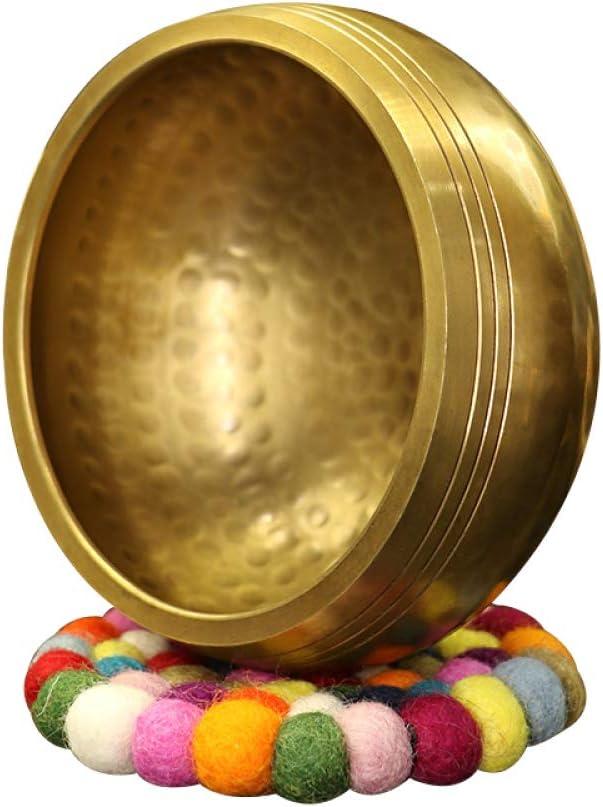"WANG XIAO Tibetan Singing Bowl 4"" Hand Hammere Set Max 86% unisex OFF"