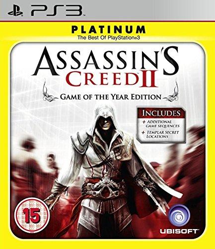 Jogo Assassins Creed II GOTY PS3