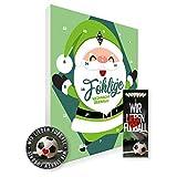 Adventskalender, Weihnachtskalender deines Bundesliga Lieblingsvereins 2019 - Plus gratis Sticker &...