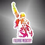 Pegatina Queen Freddie Mercury rap Hard Rock Pop funk sticker