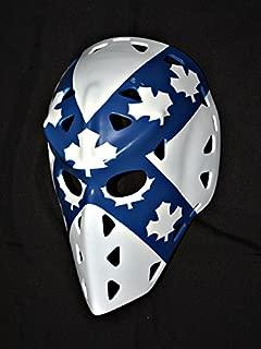 1:1 Custom Vintage Fiberglass Roller NHL Ice Hockey Goalie Mask Helmet Wayne Thomas HO10