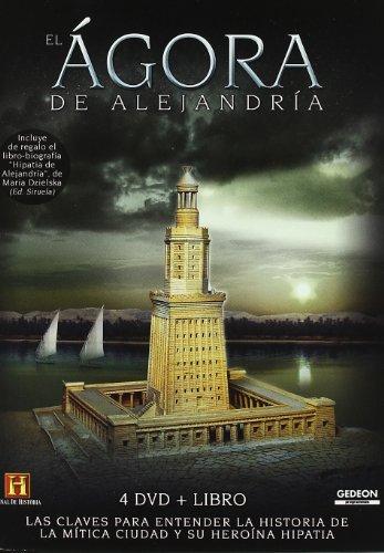 Pack El Agora De Alejandria (4 DVD + Libro)