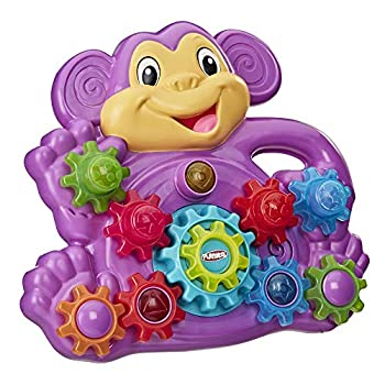 Playskool Stack  n Spin Monkey Gears Toy  Amazon Exclusive