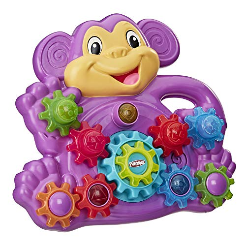 Playskool Stack 'n Spin Monkey Gears Toy (Amazon Exclusive)