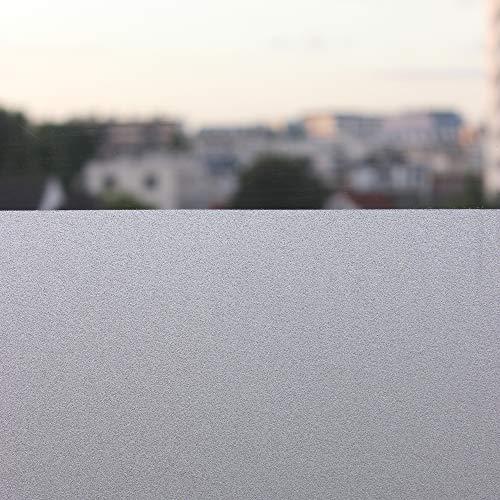 Takit Pellicola Smerigliata per Finestre - 90 * 200 Cm - Pellicola per Finestre per La Privacy - Auto Adesiva - Sticker Decorativo Statico per Finestre, Anti UV - per Camera, Ufficio, Cucina, Bagni