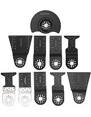 10 Stks Universele Oscillerende Zaagbladen Professionele Metalen Hout Multifunctionele Messen Voor Het Zagen Van Hout Plastic Zacht Metaal