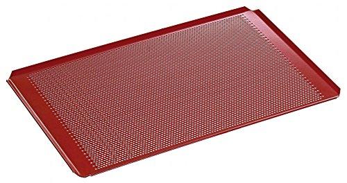 Plaque perforée avec revêtement silicone GN 1/1