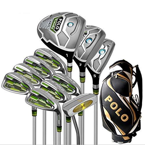 household items Polo Nuevo Juego de Palos de Golf para Principiantes Hombres Juego Completo de Palos, aleación de Titanio No. 1 Madera, Palos de práctica