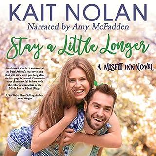 Stay a Little Longer audiobook cover art