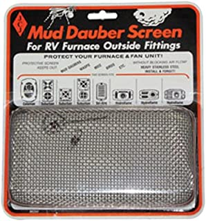 JCJ M-200 Mud Dauber Screen for RV Furnace Outside Fitting