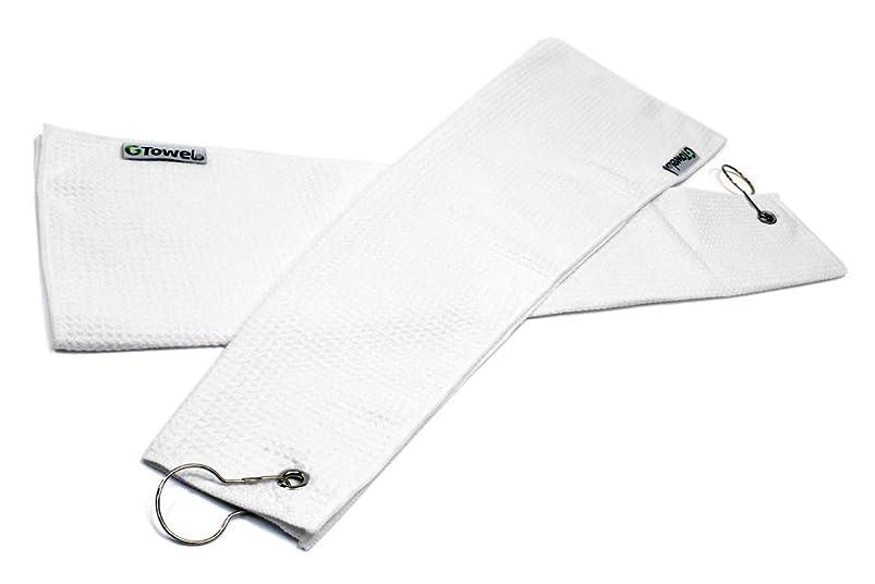 Clothlete Hook & Grommet Microfiber Golf Bag Towel 2 Pack hikbtmau039405