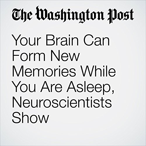 Your Brain Can Form New Memories While You Are Asleep, Neuroscientists Show audiobook cover art