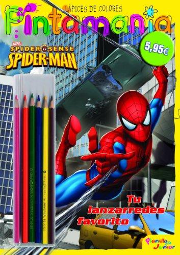 Spiderman. Pintamanía Lápices de colores: Tu lanzarredes favorito (Marvel. Spiderman)