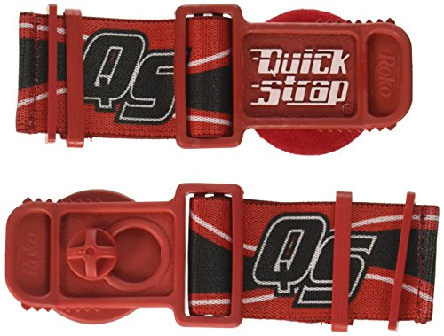 Roko Sports Goggle Quick Straps - Red QS-10 RED