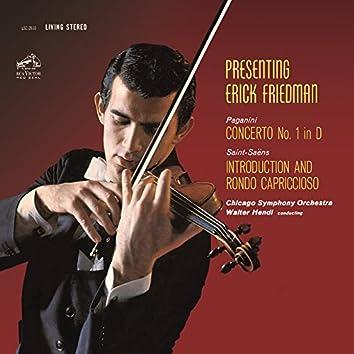 Paganini: Violin Concerto No. 1 in D Major, Op. 6 - Saint-Saëns: Introduction et Rondo capriccioso in A Minor, Op. 28