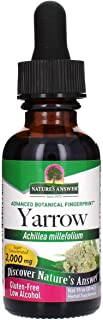 Nature's Answer Yarrow Flowers Dried Herb with Organic Alcohol, 1-Fluid Ounce | Promotes Reduction of Inflammation | Diges...
