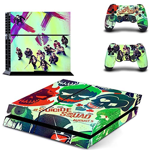 XIANYING Harley Quinn Joker Batman Ps4 Stickers Skin Sticker Decal For Playstation 4 Ps4 Console & Controller Skins Vinyl