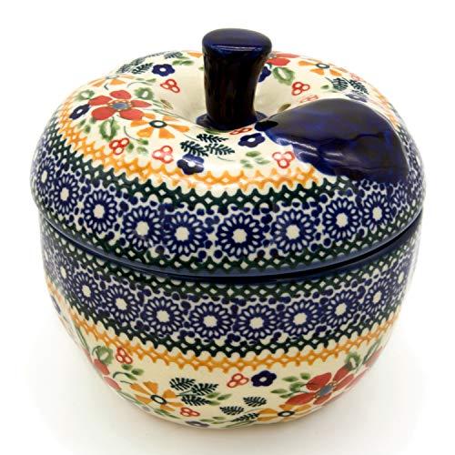 Bunzlauer Keramik Apfelbräter (Dekor Cornelia)