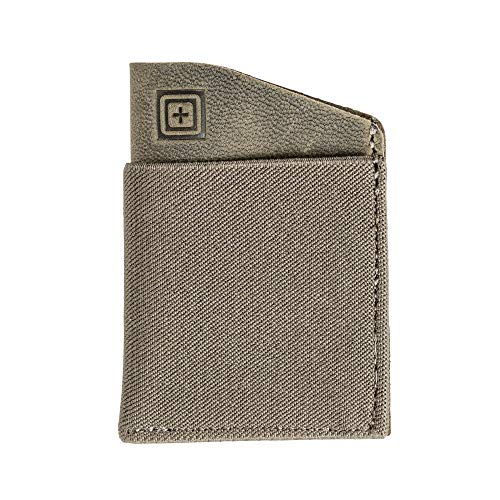 5.11 Tactical Excursion Card Wallet, Geldbeutel, Geldbörse, Portemonnaie, Card Hülle, Kartenetui, Farbe: Ranger Green, Nylon und Leder, Tactical, Outdoor, EDC, Style: 56465
