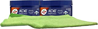 Turtle Wax ICE Premium Care Paste Polish Bundle with Microfiber Cloth (3 Items)