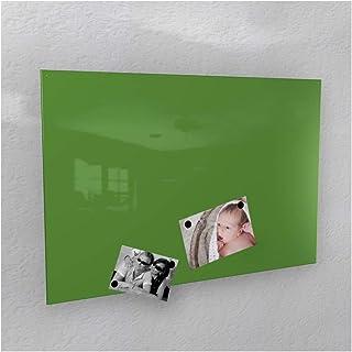Colours-Manufaktur - Pared magnética (40 x 60 cm, 50 x 80 cm, 60 x 90 cm, 50 x 110 cm), color blanco brillante, Ral 6018 G...