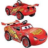 FEBER Cars Flash McQueen - Voiture lectrique Disney pour garons et filles de 3 6 ans, Rouge (Famosa 800012263)