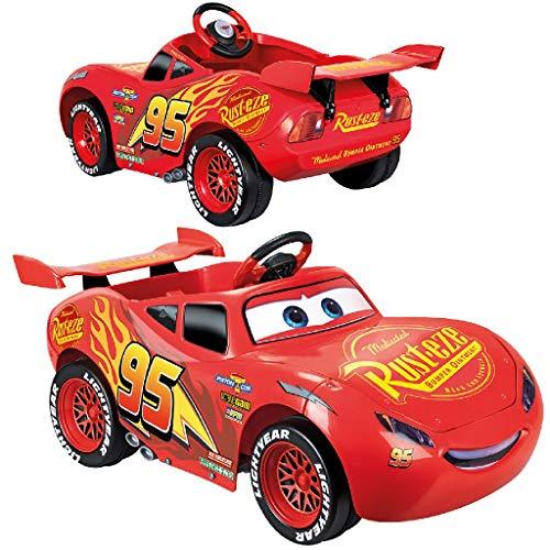 FEBER - Vehículo infantil CARS 3 Litghtning McQueen 6V (Famosa 800011147)