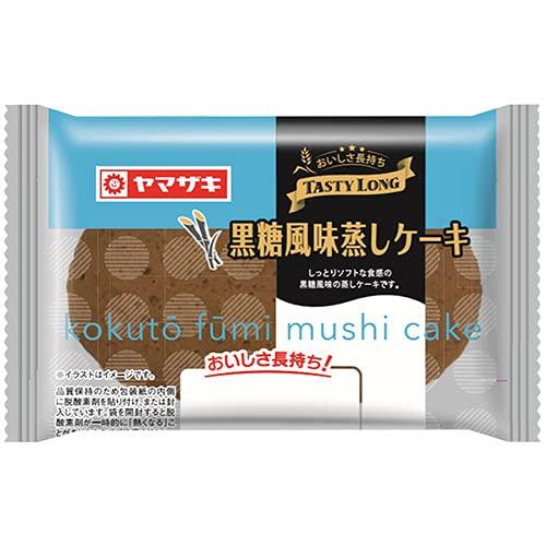 テイスティロング 黒糖風味蒸しケーキ12個セット