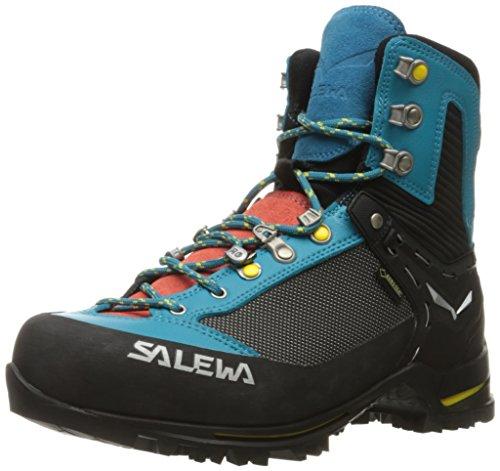 Salewa WS Raven 2 Gore-TEX, Trekking & Wanderstiefel Damen, Blau (Ocean/Ringlo), 36.5 EU