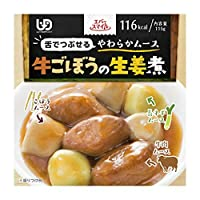 大和製罐 エバースマイル ムース食 牛ごぼうの生姜煮風 115g