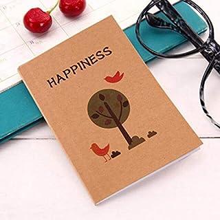 دفاتر الملاحظات - 30.48 × 3.35 بوصة نمط شجرة والطيور دفتر يوميات الجيب دفتر كتابي كتاب- هدية ترويجية قرطاسية ترويجية (طائر...