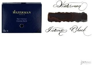 Waterman - Cartuchos de tinta para plumas estilográficas,
