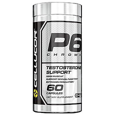 Cellucor P6 Chrome Testosterone Booster for Men