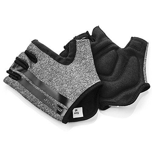 meteor® GX50 Gel Fahrradhandschuhe für Herren & Junge Kinder: Radhandschuhe perfekt für MTB, Fahrrad Straßenrennen, Mountainbike Downhill Wandern und andere Radsport Handschuhe