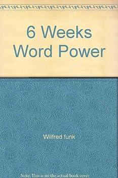 Paperback 6 Weeks Word Power Book