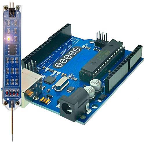 EEEEE UNO R3 (Logiksonde & UNO R3), ATMEGA328P ATMEGA16U2 Digitaler Logik-Tester, kompatibel mit Arduino IDE