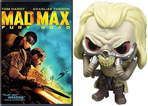 Immortal Mad Max Bundle: Mad Max Fury Road DVD Movie & Pop # 515 Figure Immortal Joe Tom Hardy Bundle Pack