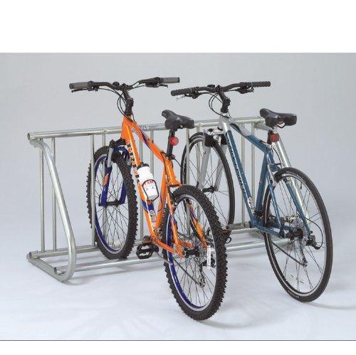 Saris Grid Pre Galvanized Bike Rack (5 Bike), Silver