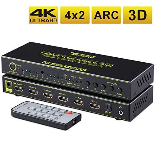 Tendak Commutateur HDMI Multiple Matrice...