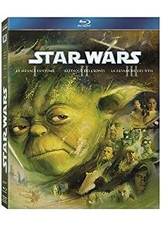 Star Wars Prélogie Ep. 1 à 3 - Coffret 3 Blu-ray (B004HYGSY2)   Amazon price tracker / tracking, Amazon price history charts, Amazon price watches, Amazon price drop alerts