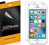 (6 unidades) Supershieldz projetado para iPhone SE (1ª geração, edição de 2016), iPhone 5S, iPhone 5C e protetor de tela do iPhone 5, proteção transparente de alta definição (PET)