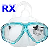YEESAM SWIM Professionnel Masque de plongée avec dioptries Correction myopes myopie Prescription RX...