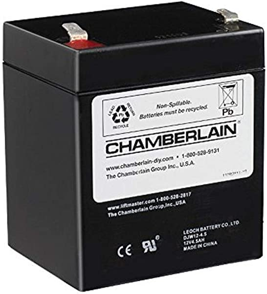 Chamberlain LiftMaster Craftsman 4228 Replacement Battery For Battery Backup Equipped Garage Door Openers Packaging May Vary