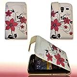 Funda Flip Style–Design No. 2–Cover Funda Case para Samsung S7500Galaxy Ace Plus