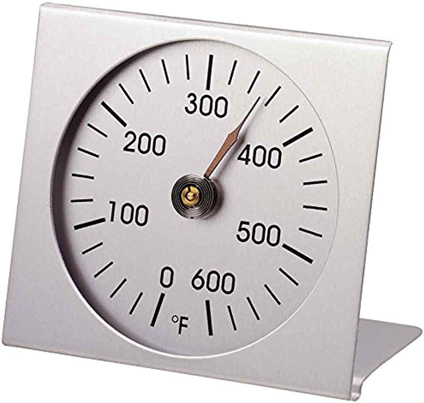 Analog Oven Thermometer Aluminum 2 4 Inch Diameter Scale